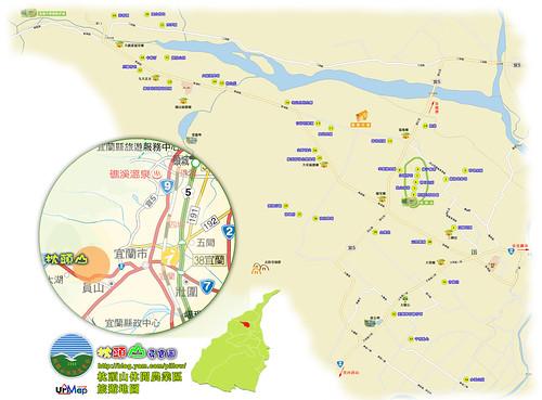 枕頭山休閒農業區地圖