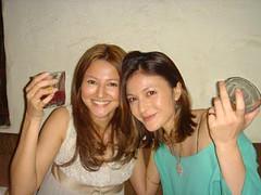 Reika y su amiga Rie