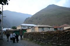 Rustic Sno village, Caucasus.