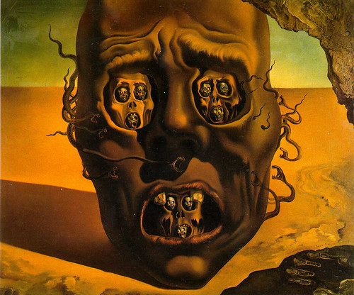 The Visage of War. pic26. Dali, 1940. Posted by Riggsveda at 7:59 AM