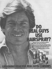 Vintage Ad #47 - Do Real Guys Use Hairspray?