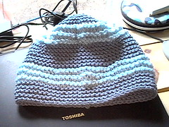 Blue Ruffled hat