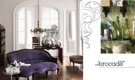 Restoration Hardware Launches Brocade Home Brand