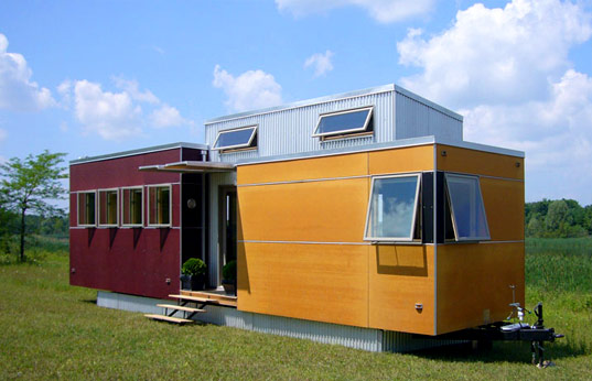Sustain miniHOME, Prefab Friday, Sustainable Prefab Housing, Prefab Homes, Green Prefab, Ec