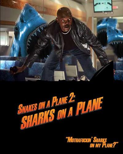 Sharks On A Plane