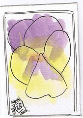 Floral ATC 2