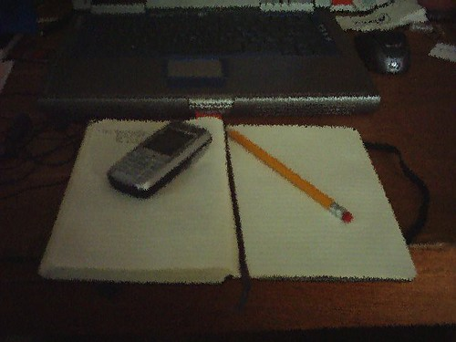 Slurred Moleskine -- Nearly Done