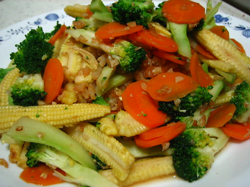 Stir-Fried Baby Corns