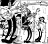 VVAA - *Peter Bagge Rockin Poppin favorites* (interior, 2: The Hollies)