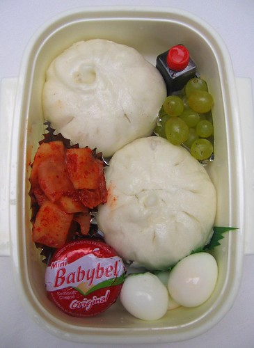 Steamed pork bun lunch #1 お弁当