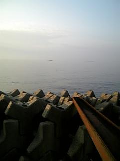 びんび屋から望む瀬戸内海
