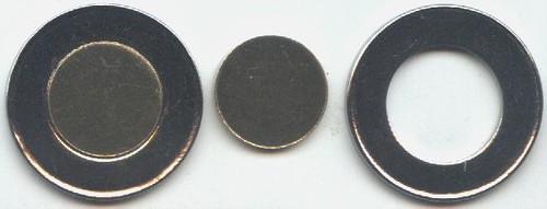 medallas vaticanas bimetálicas 154507494_ed21de3fa6