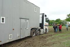 Stuck truck...