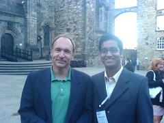 Sir Tim-Berners Lee with me !!!!!