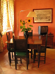 Our apartment dining area at Fonte de' Medici