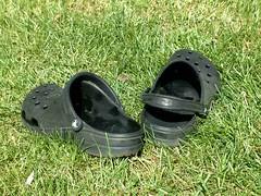 Crocs - hochklappbarer Versenriemen