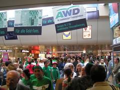 La estación central en Hanover