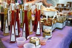 Assorted Vinegars and Jams