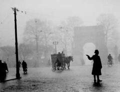 p green in fog 1944
