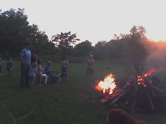 bonfire at the kevin pot-faith 1