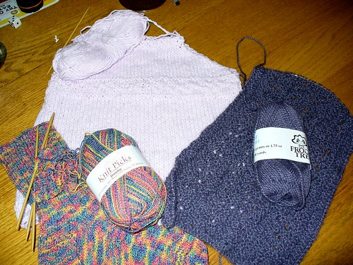 July knitting2