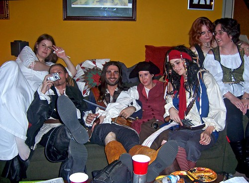 Wade's Pirate Party Group Shot