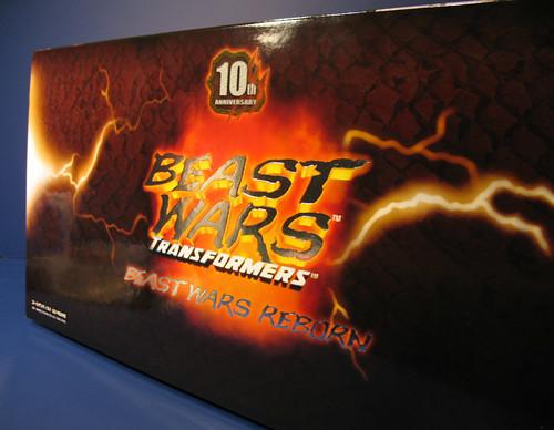 Takara Beast Wars Reborn Beast Convoy and Beast Megatron