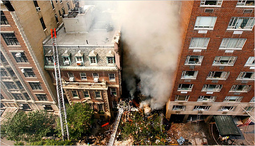 Building Collapse 2 At East 62nd St in Manhattan 07/10/06