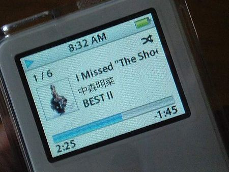 iPod nano 「中森明菜」