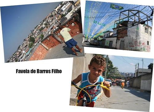 Cotidianidad en la favela (Barros Filho)