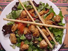 Mahi-mahi Ponzu Salad