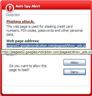 Google ADs = Phishing!!!
