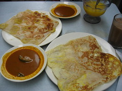 Roti Pisang and Roti Telur