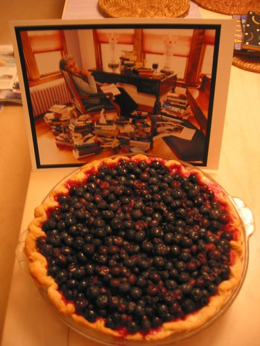 susan's blueberry pie