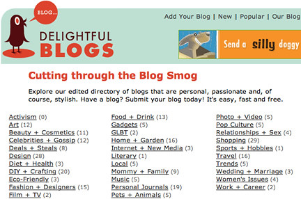 Delightful Blogs: Sign Up! It's Free!