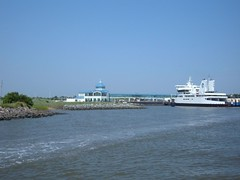 Cape May Ferry Dock along the Cape May Canal
