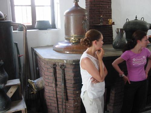 At a Kitron factory, Naxos Greece