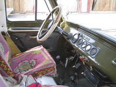 Inside of the car
