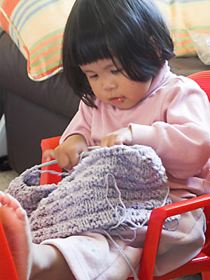 A Knitter In The Making?