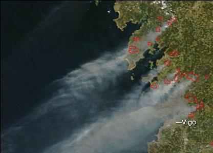 imaxe de satélite