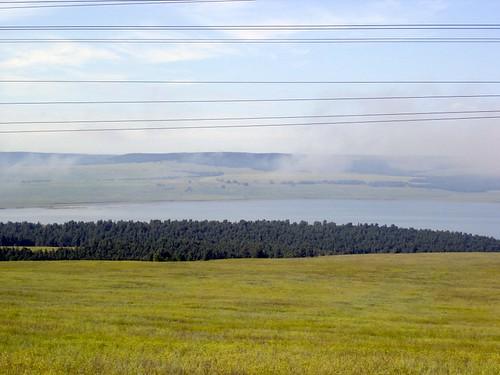 Братское водохранилище \ Bratsk reservoir