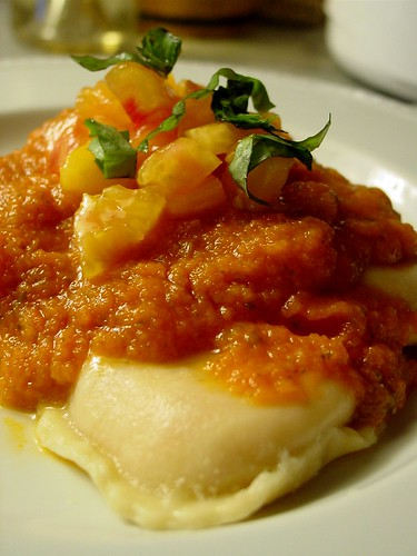 Ravioli with Heirloom Sauce 1