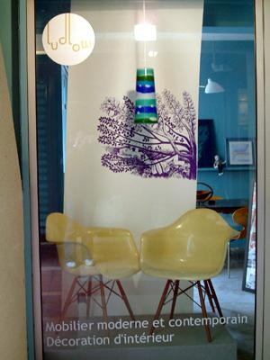 Marche Antica裡的經典Shell Chair