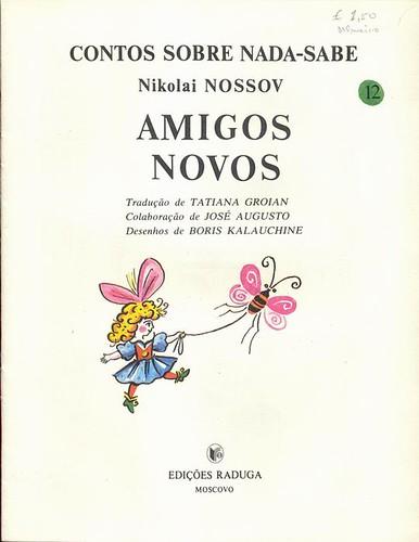 Boris Kalauchine, Amigos Novos, 1988 - 1