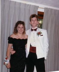 me and brad prom