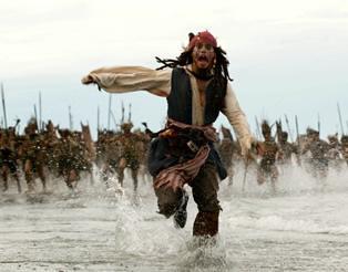 piratas del caribe johnny depp film el cofre del hombre muerto 2