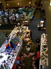 Brickfest MOC Exhibit - Day 1
