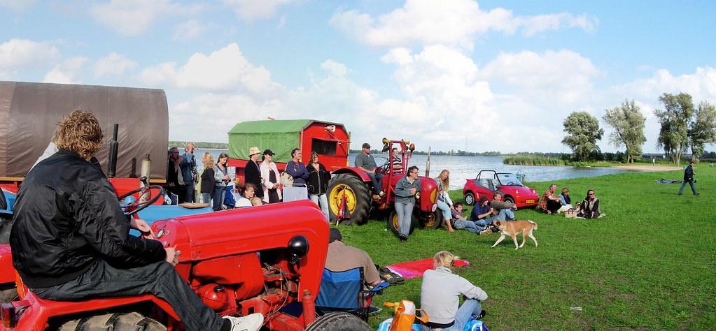 muiderberg en tractor