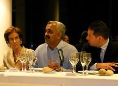 Cenando con Das Narayandas