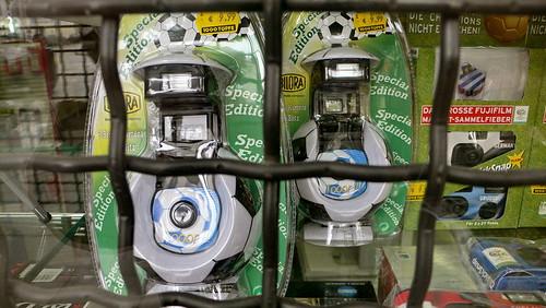Fußball-Einweg-Kamera in Hamburg Sankt Georg